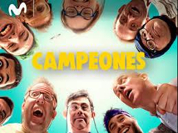 Campeones. Cartel de la película
