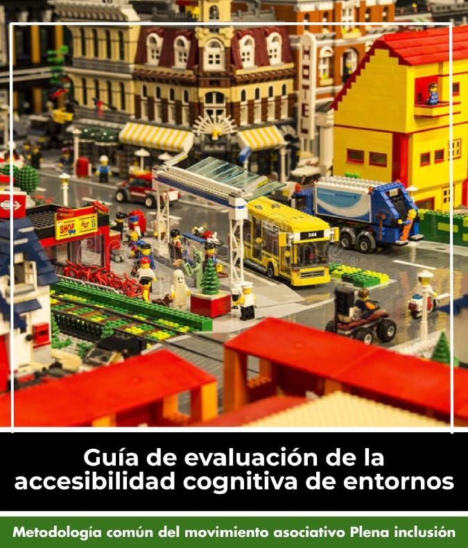 Portada de la Guía de evaluación de la accesibilidad cognitiva de entornos