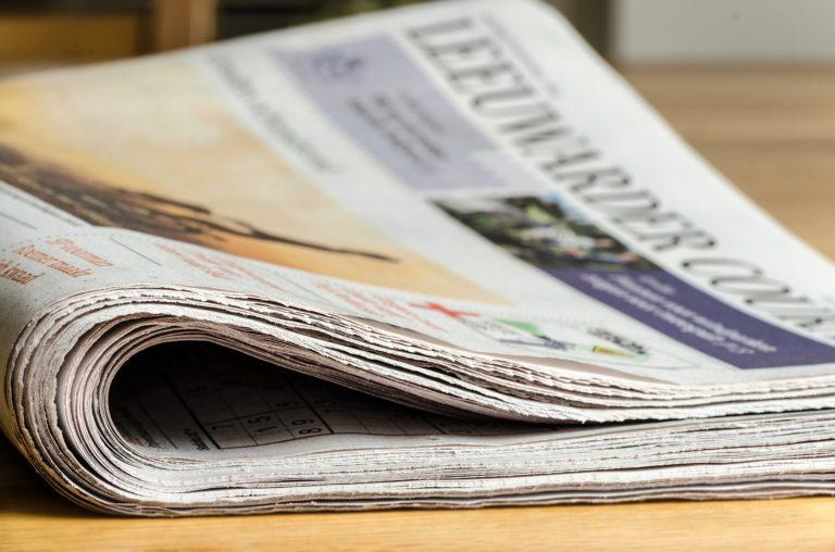 Imagen de un periódico