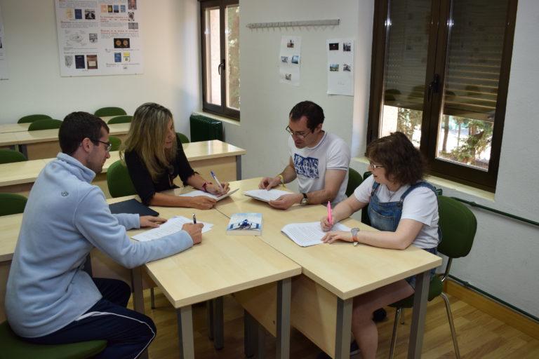 Grupo Lectura Facil Unidivesrsitas. Foto: David Aparicio