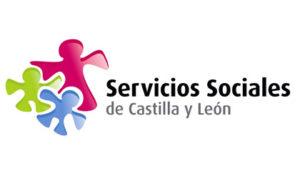 Logotipo servicios sociales Junta de Castilla y León