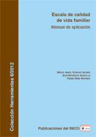 Portada de la Escala de calidad de vida familiar: Manual de aplicación