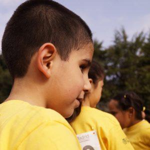 Esperando turno en la carrera anual del colegio (Foto presentada a la edición 11 del  Concurso de Fotografía Digital del INICO - Fundación Grupo Norte)