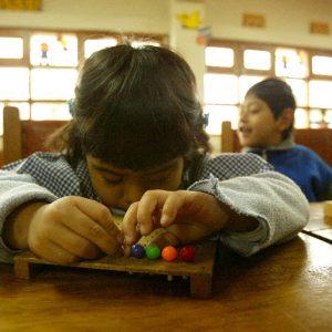 El colegio estatal de educación especial Luis Braille funciona desde 1941 y alberga a niños y jóvenes de bajos recursos económicos que padecen de ceguera y visión baja. (Foto presentada a la edición 5 del  Concurso de Fotografía Digital del INICO - Fundación Grupo Norte)