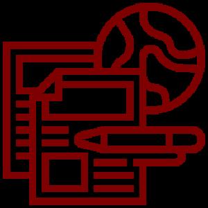 Icono recursos en internet