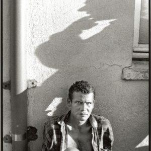 La mirada de un hombre nos interpela (sanatorio mental). (Foto presentada a la edición 6 del  Concurso de Fotografía Digital del INICO - Fundación Grupo Norte)