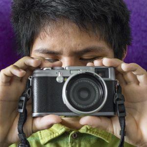 84-Nilton el fotografo invidente
