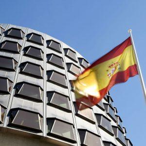 Tribunal-Constitucional-bandera de españa