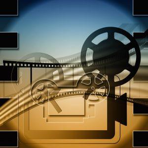 Imagen de un proyector de cine