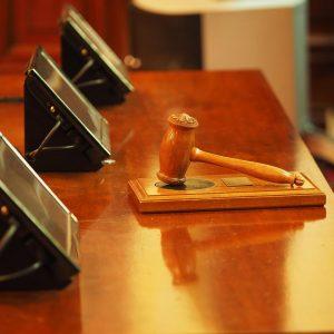 maza de un juzgado