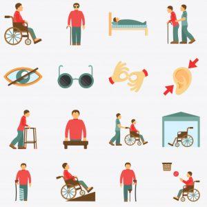 por tipo discapacidad